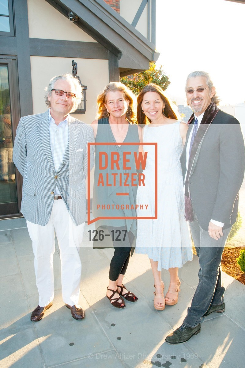 Peter Allen, Margaret Allan, Anna Beuselinck, Jeffrey Rosen, An Evening in the Vineyard hosted by JACK CALHOUN & TRENT NORRIS, Jack Calhoun & Trent Norris Vineyard. 3393 Dry Creek Road, Healdsburg CA 95448, May 22nd, 2015,Drew Altizer, Drew Altizer Photography, full-service agency, private events, San Francisco photographer, photographer california