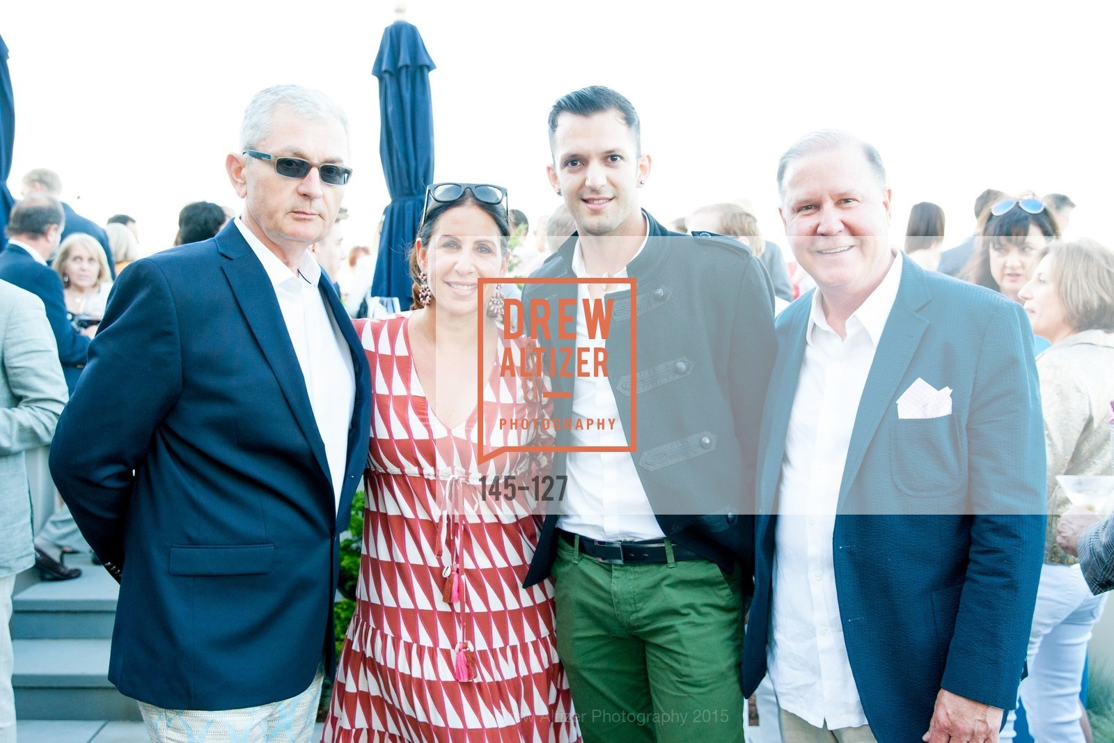 Alain-Martin Piuriet, Lisa Grotts, Efren Espinosa, John Grotts, An Evening in the Vineyard hosted by JACK CALHOUN & TRENT NORRIS, Jack Calhoun & Trent Norris Vineyard. 3393 Dry Creek Road, Healdsburg CA 95448, May 22nd, 2015,Drew Altizer, Drew Altizer Photography, full-service agency, private events, San Francisco photographer, photographer california
