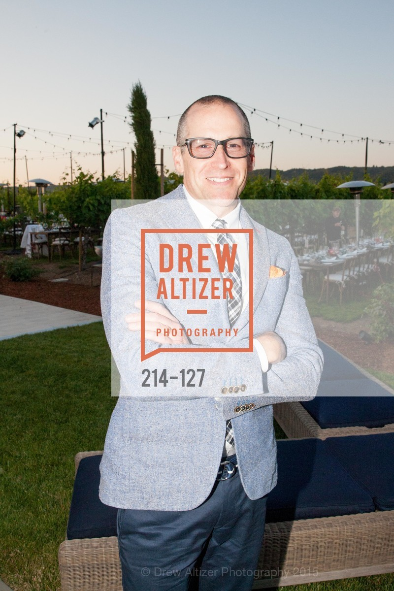 Steve Wilson, An Evening in the Vineyard hosted by JACK CALHOUN & TRENT NORRIS, Jack Calhoun & Trent Norris Vineyard. 3393 Dry Creek Road, Healdsburg CA 95448, May 22nd, 2015,Drew Altizer, Drew Altizer Photography, full-service agency, private events, San Francisco photographer, photographer california