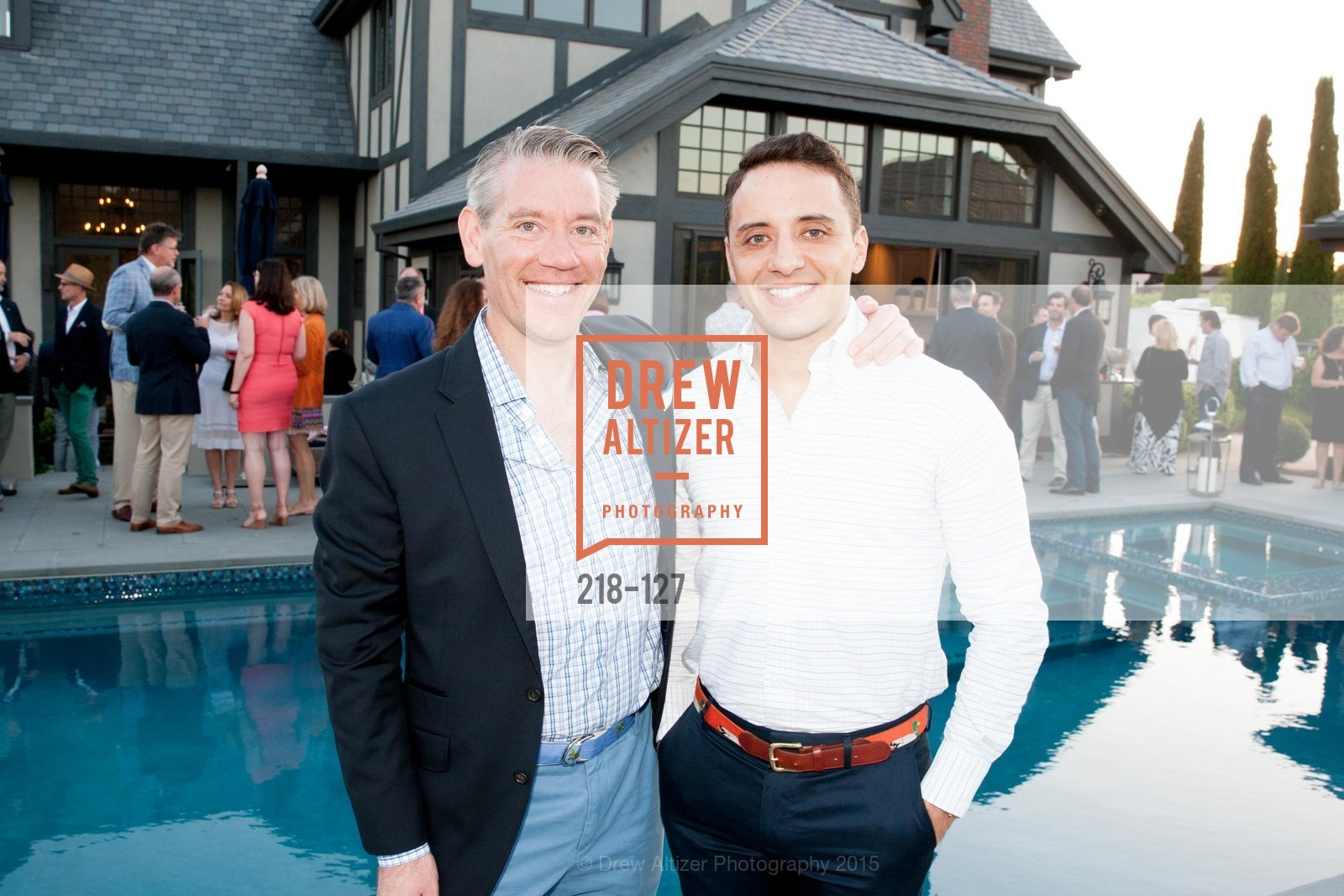 Brian Buenneke, Brian Mehler, An Evening in the Vineyard hosted by JACK CALHOUN & TRENT NORRIS, Jack Calhoun & Trent Norris Vineyard. 3393 Dry Creek Road, Healdsburg CA 95448, May 22nd, 2015,Drew Altizer, Drew Altizer Photography, full-service agency, private events, San Francisco photographer, photographer california