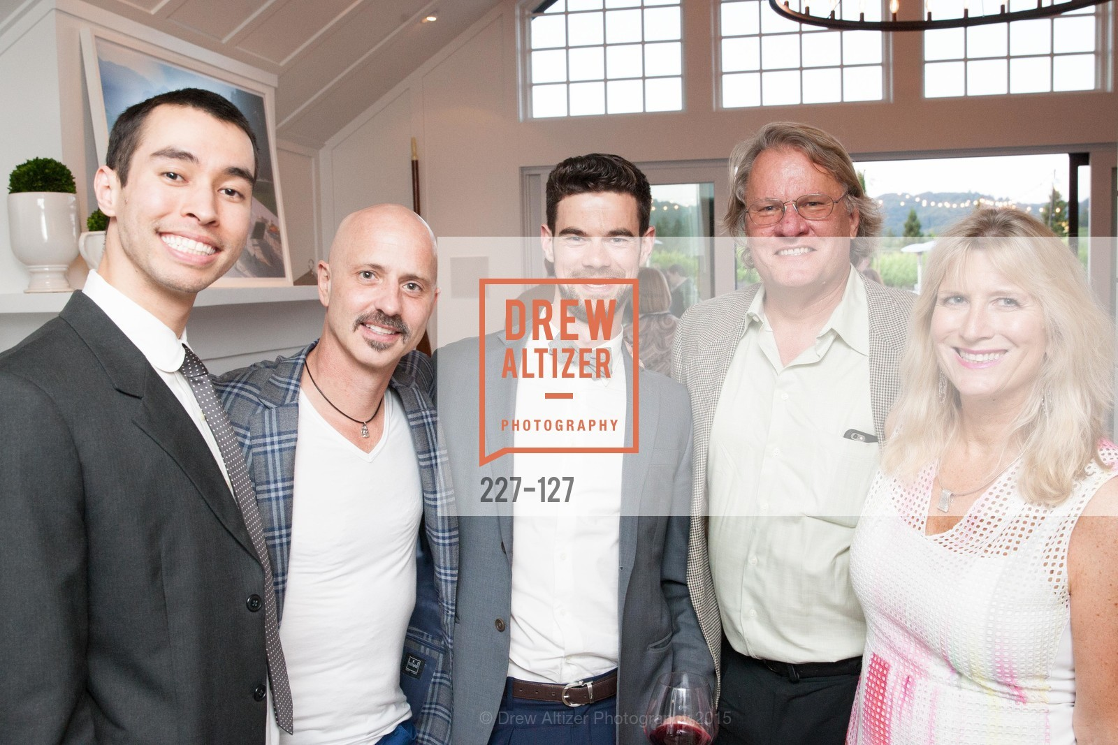 James Williams, Brian Boitano, Scott Sitrin, Sean Lincoln, Holly House, An Evening in the Vineyard hosted by JACK CALHOUN & TRENT NORRIS, Jack Calhoun & Trent Norris Vineyard. 3393 Dry Creek Road, Healdsburg CA 95448, May 22nd, 2015,Drew Altizer, Drew Altizer Photography, full-service agency, private events, San Francisco photographer, photographer california
