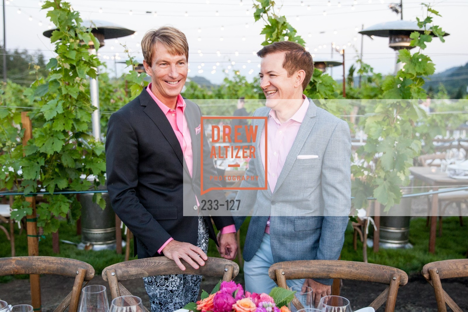 Jack Calhoun, Trent Norris, An Evening in the Vineyard hosted by JACK CALHOUN & TRENT NORRIS, Jack Calhoun & Trent Norris Vineyard. 3393 Dry Creek Road, Healdsburg CA 95448, May 22nd, 2015,Drew Altizer, Drew Altizer Photography, full-service agency, private events, San Francisco photographer, photographer california
