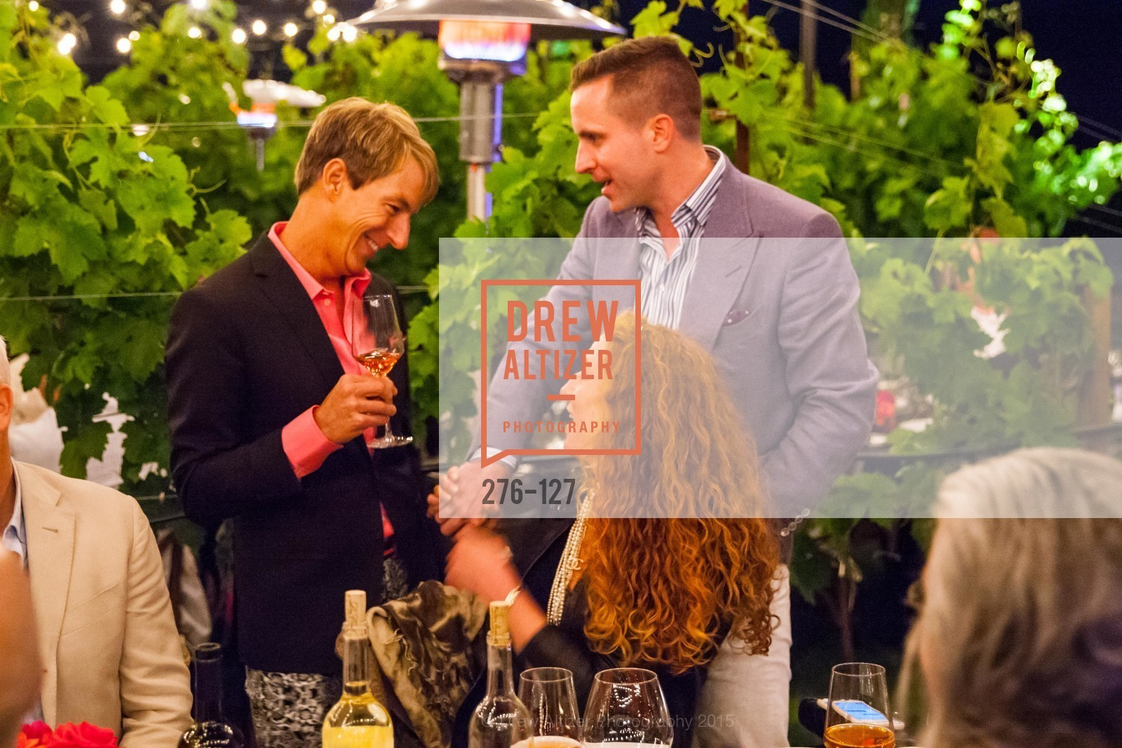 Jack Calhoun, Ari Kofayan, An Evening in the Vineyard hosted by JACK CALHOUN & TRENT NORRIS, Jack Calhoun & Trent Norris Vineyard. 3393 Dry Creek Road, Healdsburg CA 95448, May 22nd, 2015,Drew Altizer, Drew Altizer Photography, full-service agency, private events, San Francisco photographer, photographer california