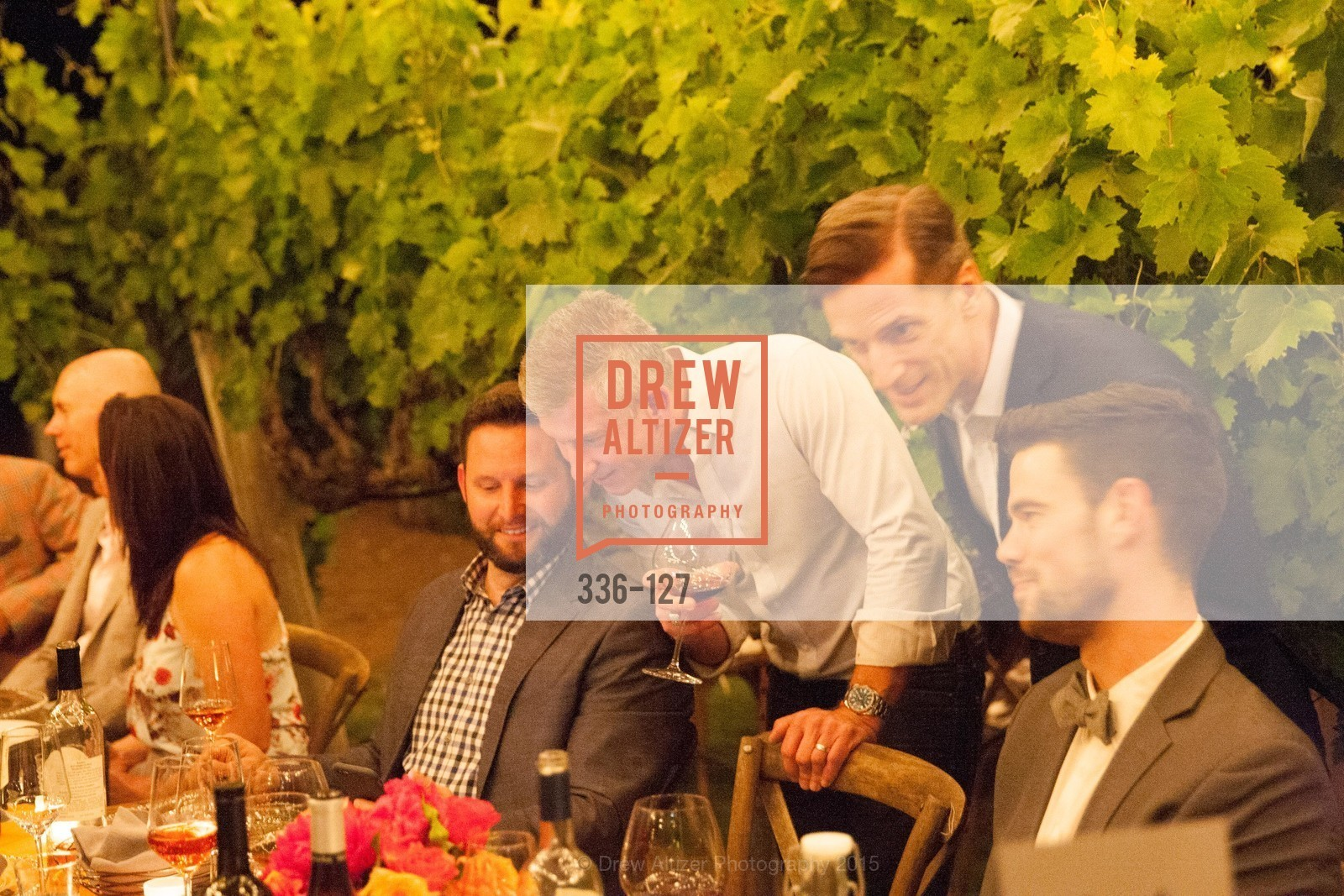 Bill Damaschke, An Evening in the Vineyard hosted by JACK CALHOUN & TRENT NORRIS, Jack Calhoun & Trent Norris Vineyard. 3393 Dry Creek Road, Healdsburg CA 95448, May 22nd, 2015,Drew Altizer, Drew Altizer Photography, full-service agency, private events, San Francisco photographer, photographer california