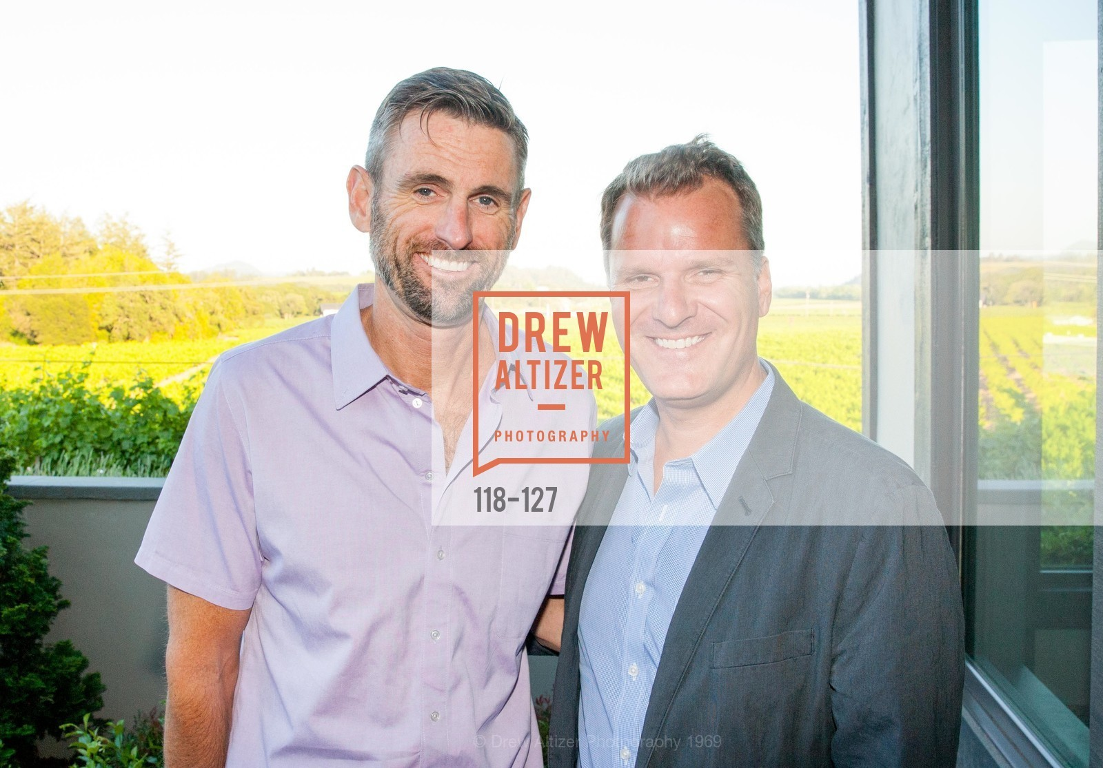 Matt Gray, David Groff, An Evening in the Vineyard hosted by JACK CALHOUN & TRENT NORRIS, Jack Calhoun & Trent Norris Vineyard. 3393 Dry Creek Road, Healdsburg CA 95448, May 22nd, 2015,Drew Altizer, Drew Altizer Photography, full-service agency, private events, San Francisco photographer, photographer california
