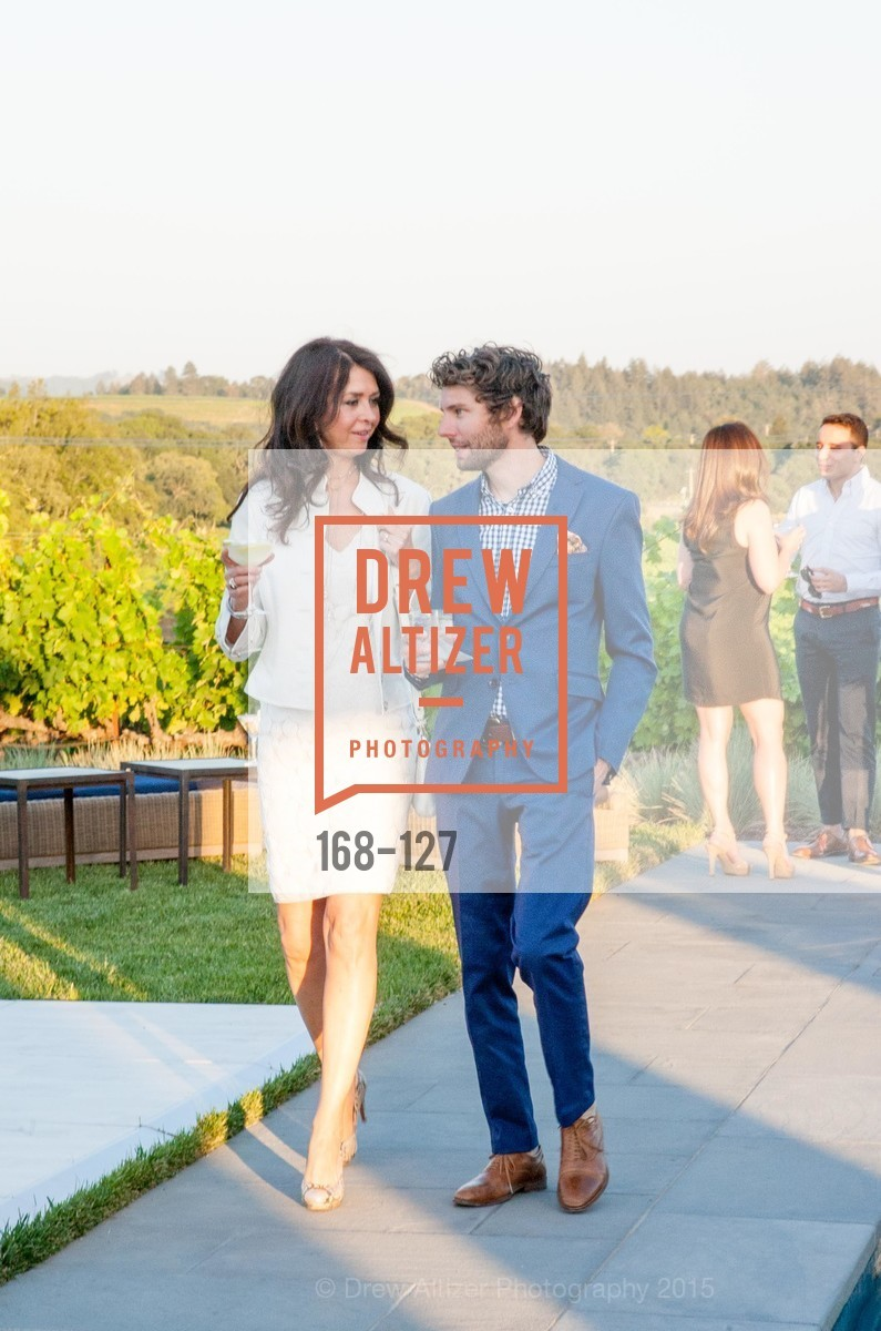 Tracey Atwood, Drew Parker, An Evening in the Vineyard hosted by JACK CALHOUN & TRENT NORRIS, Jack Calhoun & Trent Norris Vineyard. 3393 Dry Creek Road, Healdsburg CA 95448, May 22nd, 2015,Drew Altizer, Drew Altizer Photography, full-service event agency, private events, San Francisco photographer, photographer California