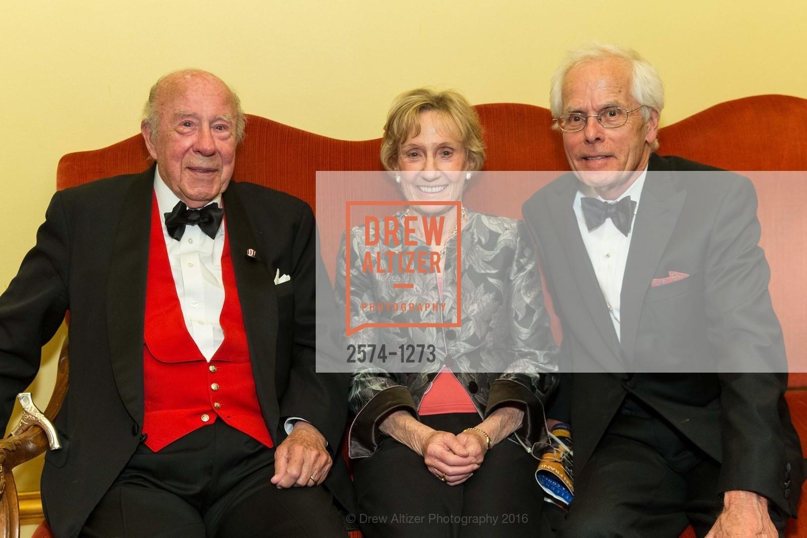 George Shultz, Nancy Bechtle, Joachuim Bechlet, Photo #2574-1273