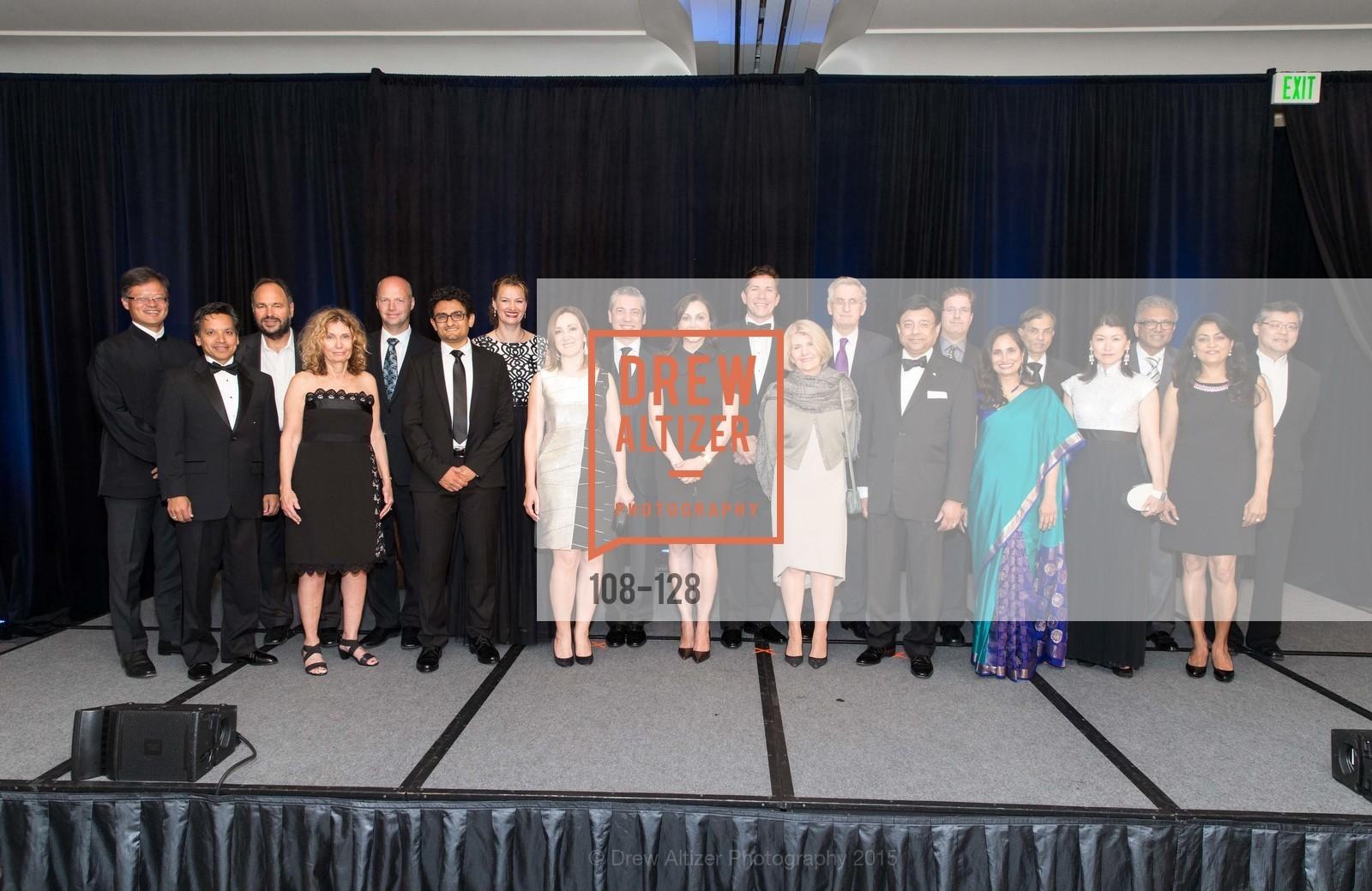 Jay Xu, Lata Krishnan, Umang Gupta, Vivek Ranadive, Padmasree Warrior, Matias Tarnopolsky, S. Shariq Yosufzai, Ruediger Naumann-Etienne, Annette Campbell-White, Gary Kovac, Bita Daryabari, Nicola Luisotti, Noosheen Hashemi, Petra Dierkes-Thrun, Wael Ghonim, Sebastian Thrun, Sharon Chabon, Paul Maritz, Deepak Srivastava, Jerry Yang, World Affairs Council Awards Dinner: Global Actors | Global Reach | Global Impact, Four Seasons San Francisco, May 25th, 2015,Drew Altizer, Drew Altizer Photography, full-service agency, private events, San Francisco photographer, photographer california