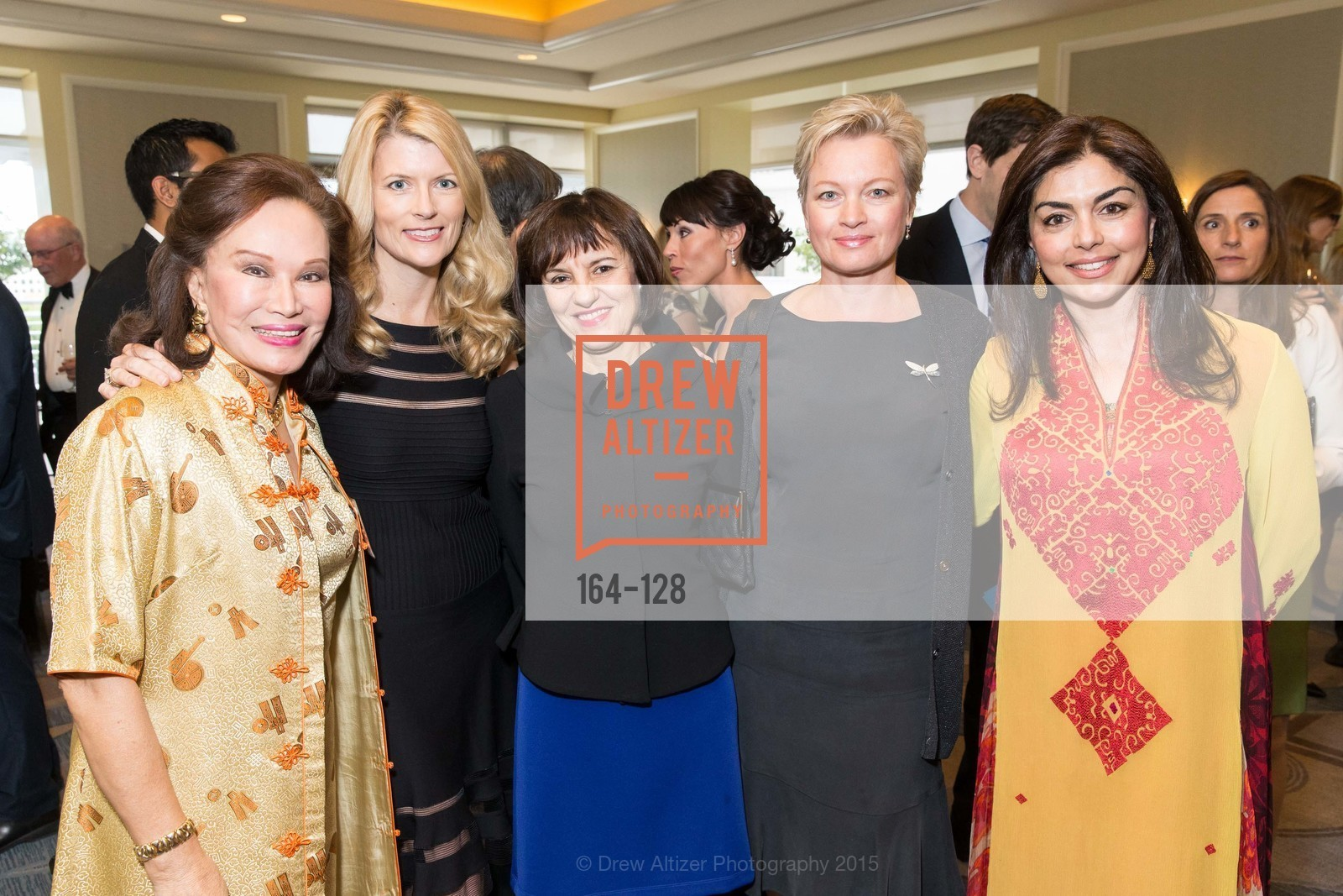 Martha Hertelendy, Diane Dwyer, Cheang Granyna, Olga Petrova, Sara Abbasi, World Affairs Council Awards Dinner: Global Actors | Global Reach | Global Impact, Four Seasons San Francisco, May 25th, 2015,Drew Altizer, Drew Altizer Photography, full-service agency, private events, San Francisco photographer, photographer california