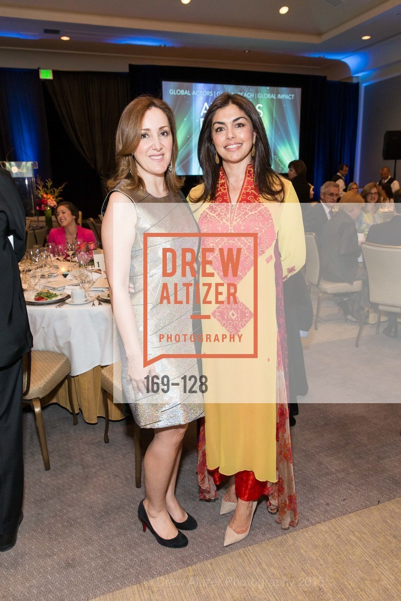 Noosheen Hashemi, Sara Abbasi, World Affairs Council Awards Dinner: Global Actors | Global Reach | Global Impact, Four Seasons San Francisco, May 25th, 2015,Drew Altizer, Drew Altizer Photography, full-service agency, private events, San Francisco photographer, photographer california