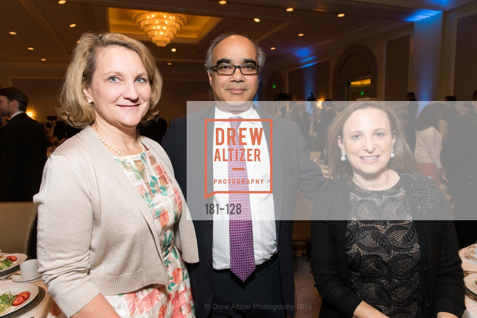 Ann von Germeten, Duke Dayal, Elyse O'Sullivan, World Affairs Council Awards Dinner: Global Actors | Global Reach | Global Impact, Four Seasons San Francisco, May 25th, 2015,Drew Altizer, Drew Altizer Photography, full-service agency, private events, San Francisco photographer, photographer california
