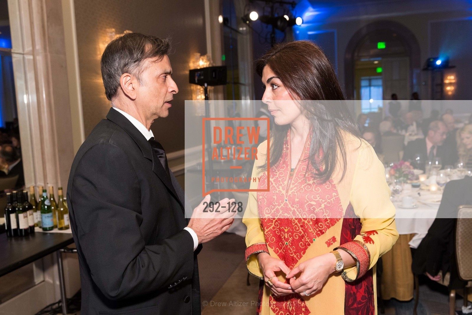 Vivek Ranadive, Sara Abbasi, World Affairs Council Awards Dinner: Global Actors | Global Reach | Global Impact, Four Seasons San Francisco, May 25th, 2015,Drew Altizer, Drew Altizer Photography, full-service agency, private events, San Francisco photographer, photographer california