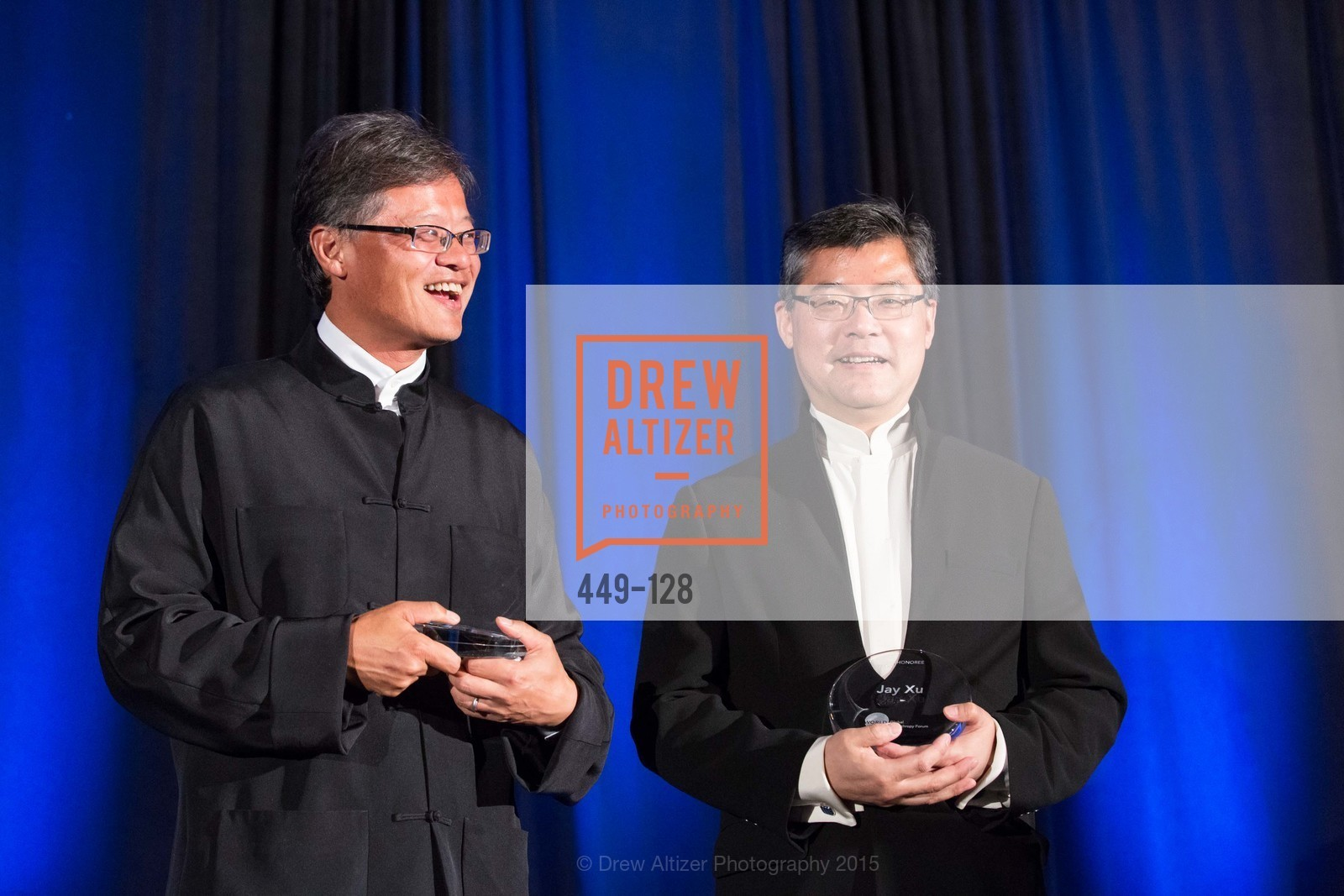 Jerry Yang, Jay Xu, World Affairs Council Awards Dinner: Global Actors | Global Reach | Global Impact, Four Seasons San Francisco, May 25th, 2015,Drew Altizer, Drew Altizer Photography, full-service event agency, private events, San Francisco photographer, photographer California