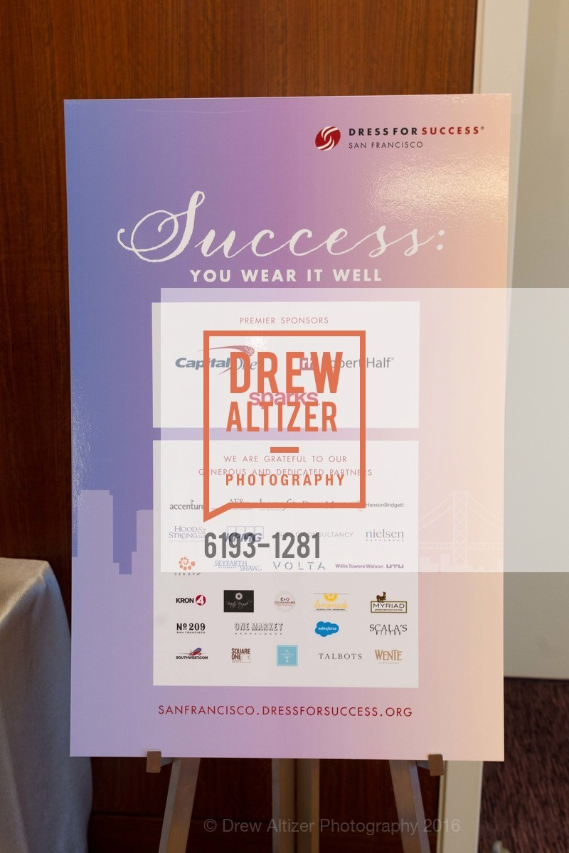 Atmosphere, Dress for Success 11th Annual Gala, US. Intercontinental Hotel, June 22nd, 2016