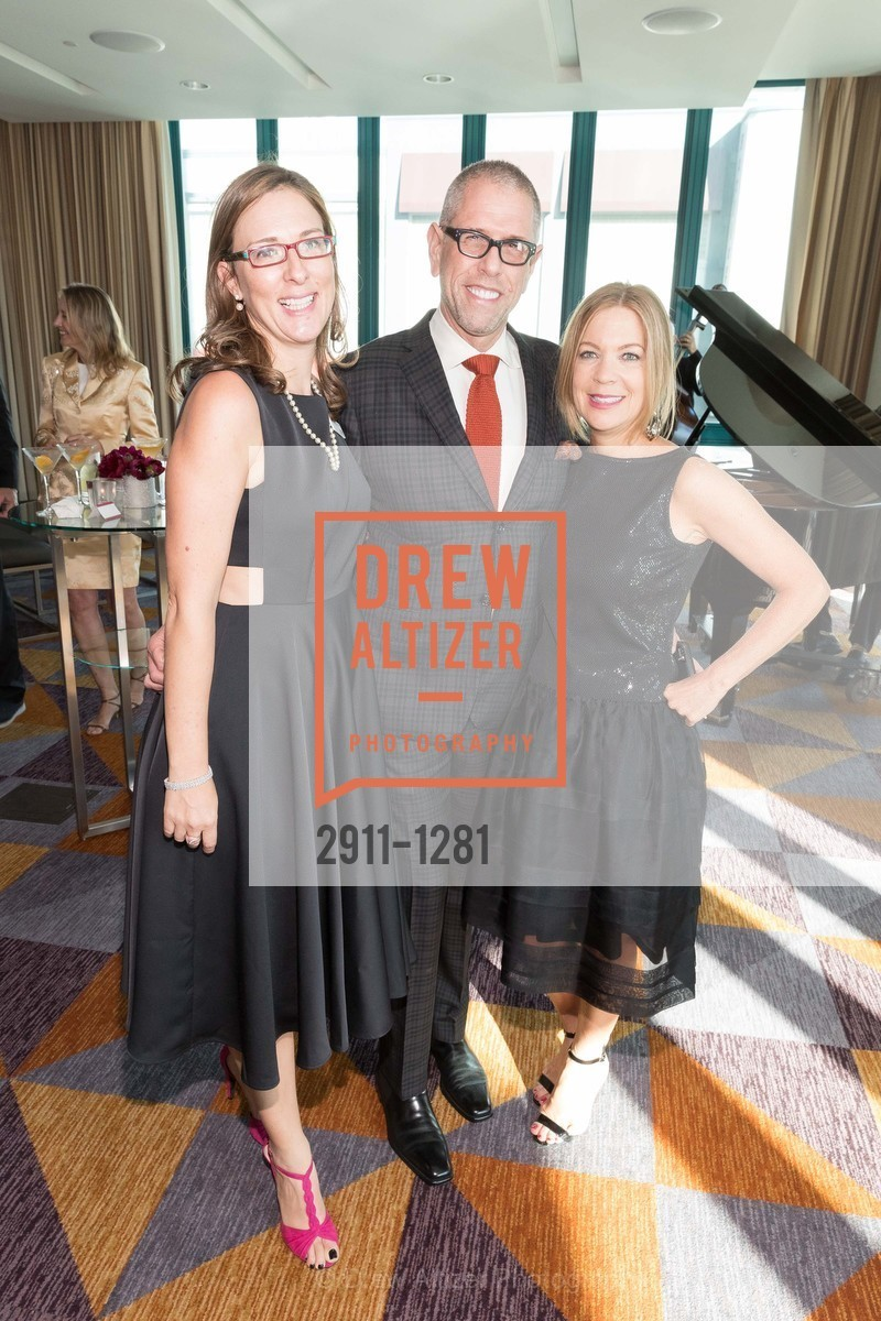 Julie Sims, Andrew Freeman, Lisa Edwards, Dress for Success 11th Annual Gala, US. Intercontinental Hotel, June 22nd, 2016