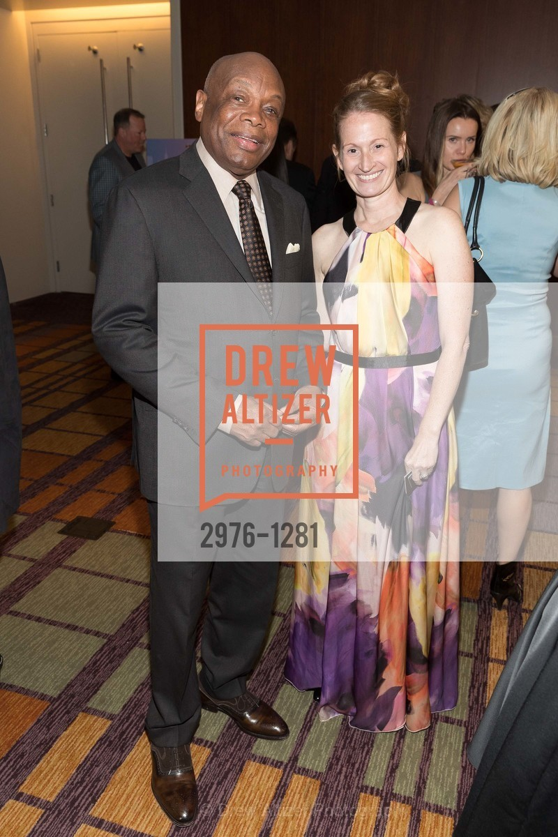 Willie Brown, Renee Surcouf, Dress for Success 11th Annual Gala, US. Intercontinental Hotel, June 22nd, 2016