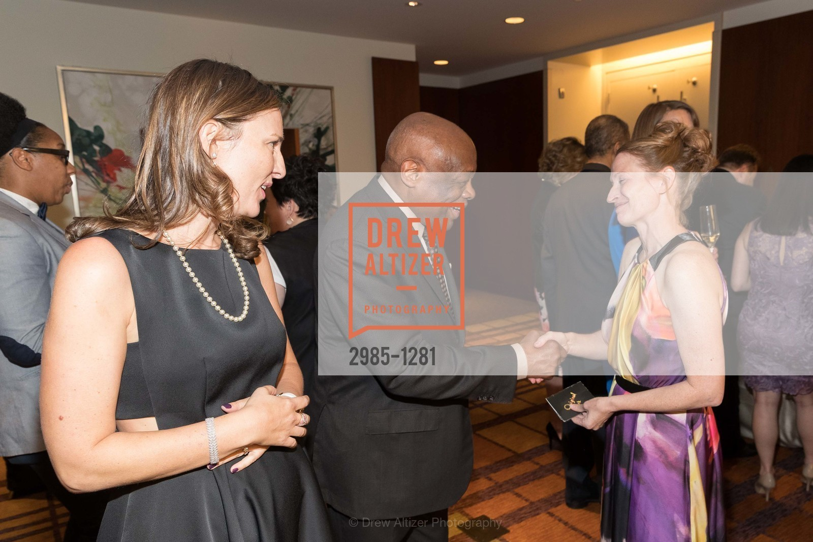 Julie Sims, Willie Brown, Renee Surcouf, Photo #2985-1281