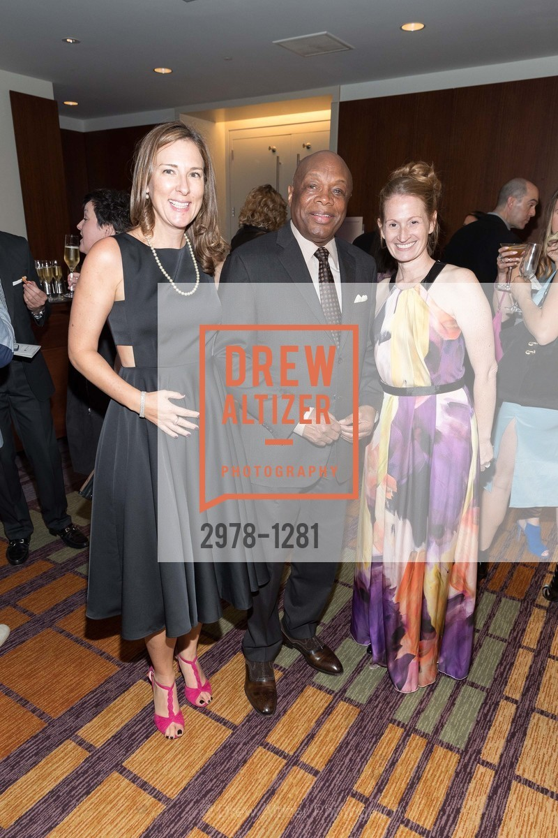 Julie Sims, Willie Brown, Renee Surcouf, Dress for Success 11th Annual Gala, US. Intercontinental Hotel, June 22nd, 2016