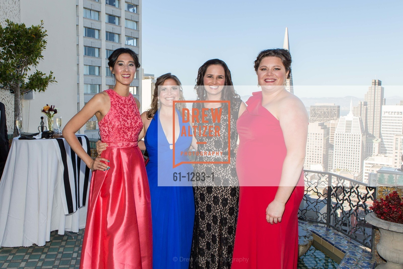 Tinna Ho, Jonna Constantine, Kristine Leep, Cassie Gray, Spinsters of San Francisco Annual Ball 2016, US, June 25th, 2016
