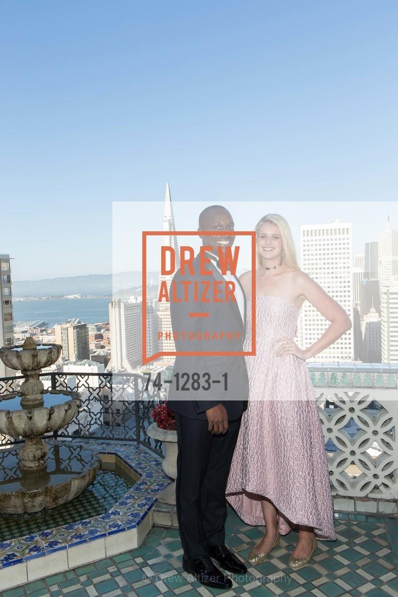 Kolapo Odujinrin, Laura Moir, Spinsters of San Francisco Annual Ball 2016, US, June 25th, 2016