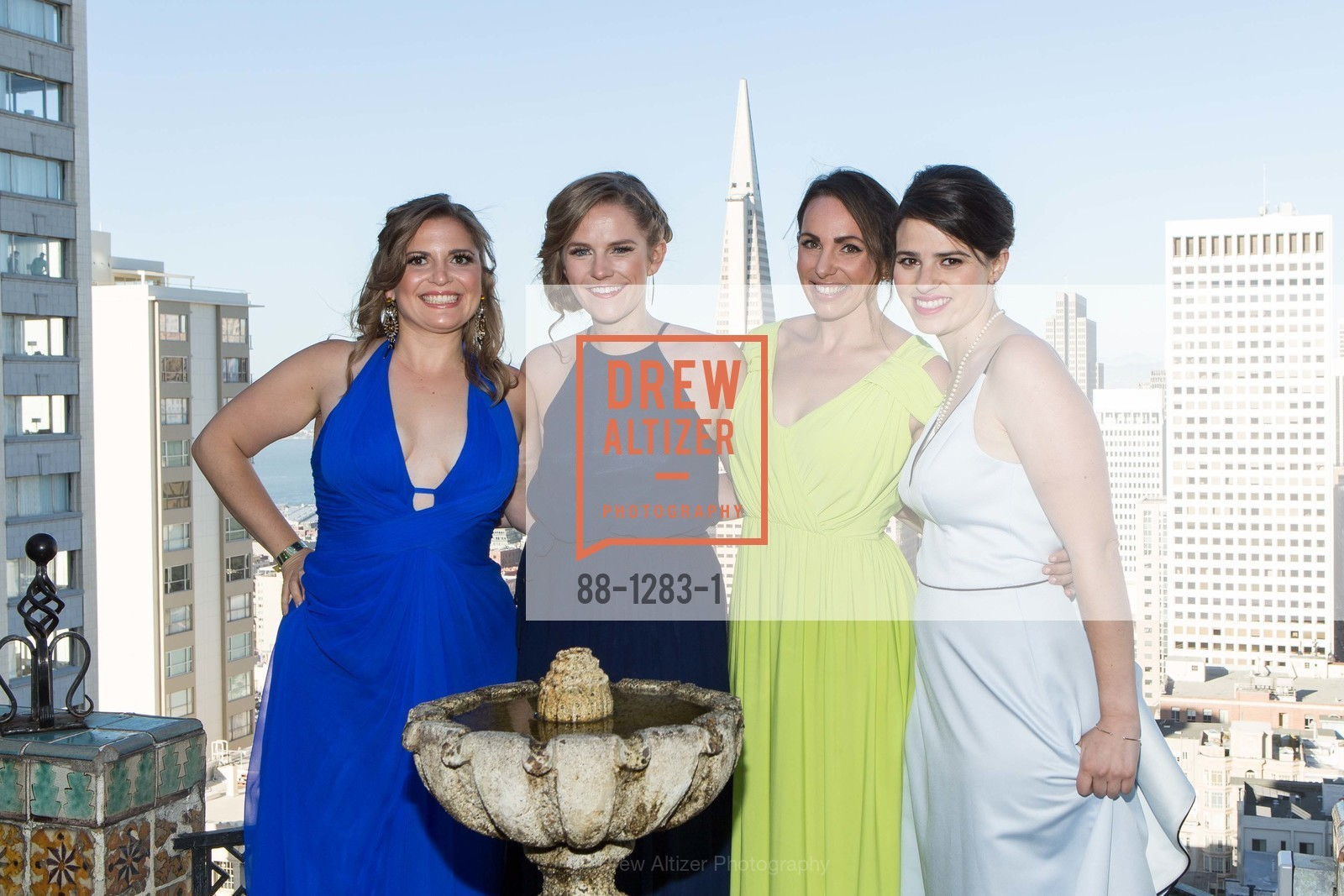 Jonna Constantine, Beth Windheuser, Genevieve Haight, Bailey Douglass, Spinsters of San Francisco Annual Ball 2016, US, June 25th, 2016