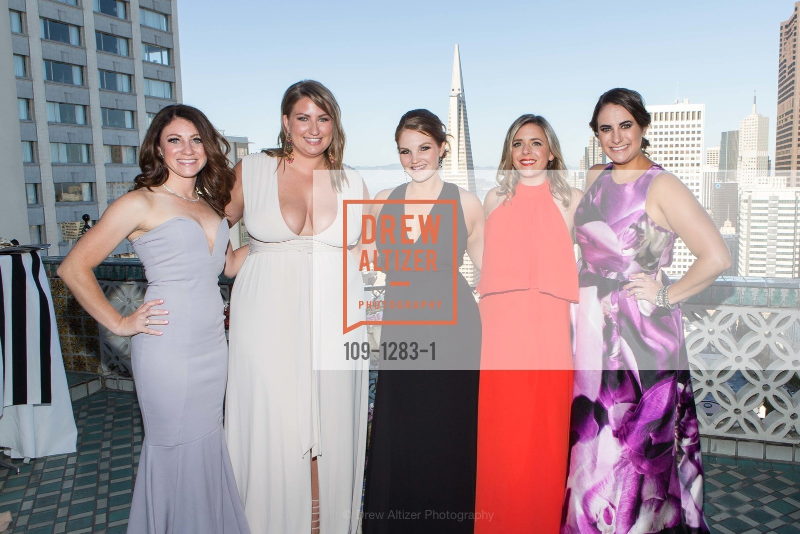 Kate Miller, Annie Benisch, Jamie Taylor, Melissa Stoller, Kathleen Roberts, Spinsters of San Francisco Annual Ball 2016, US, June 25th, 2016