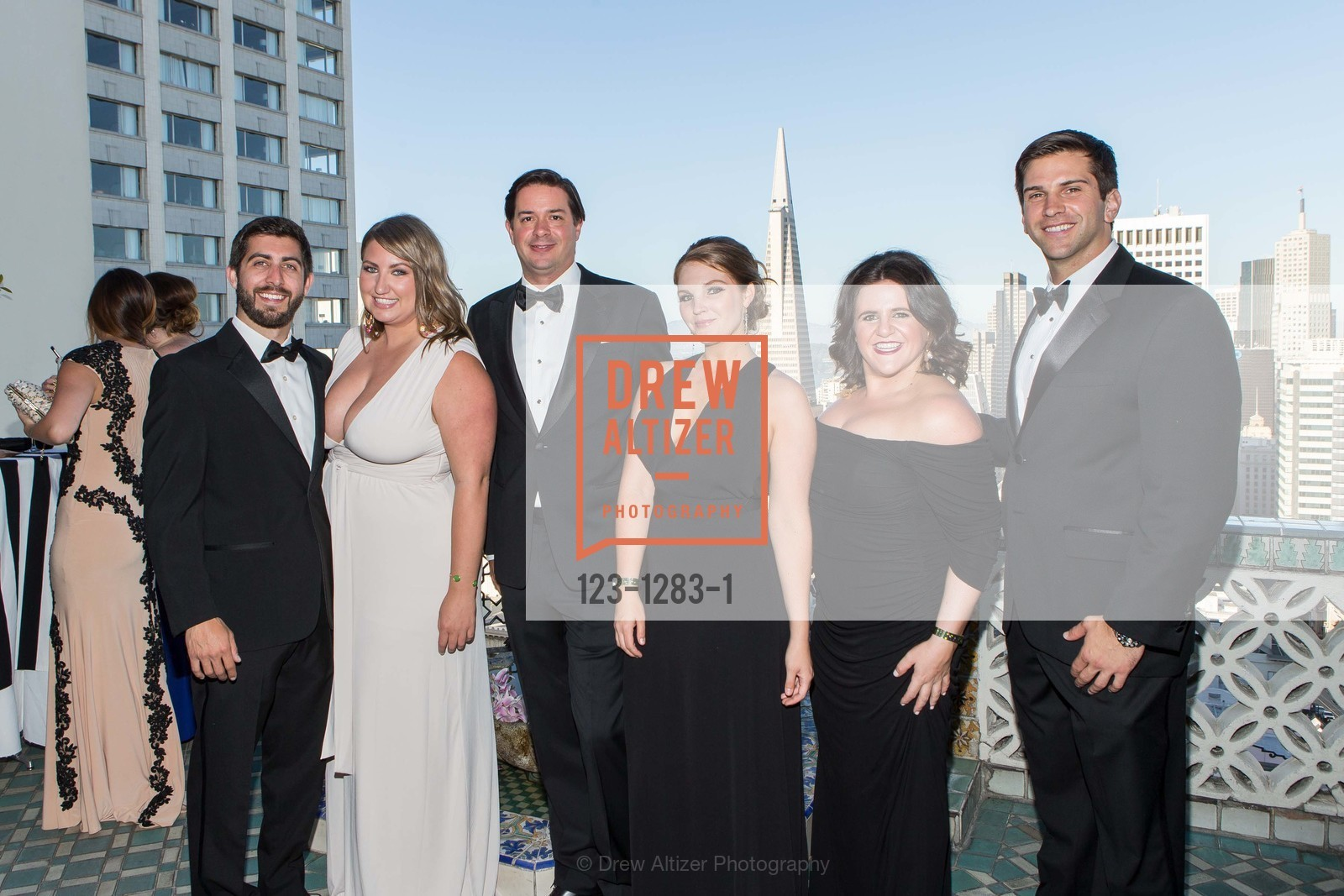Josh Samaha, Annie Benish, Daniel Cassell, Jamie Taylor, Kate Heffernan, Peter Yorck, Spinsters of San Francisco Annual Ball 2016, US, June 25th, 2016