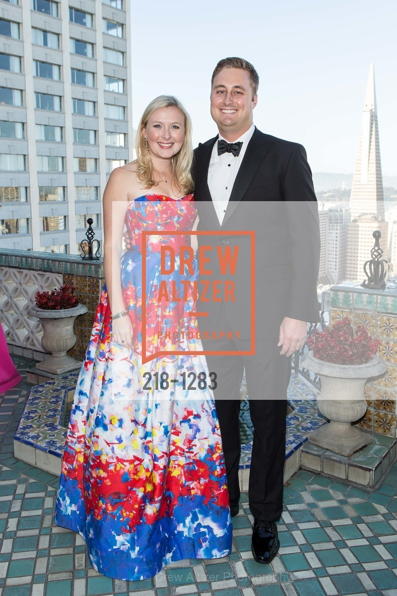 Claire Christian, Ryan Seams, Spinsters of San Francisco Annual Ball 2016, US, June 25th, 2016
