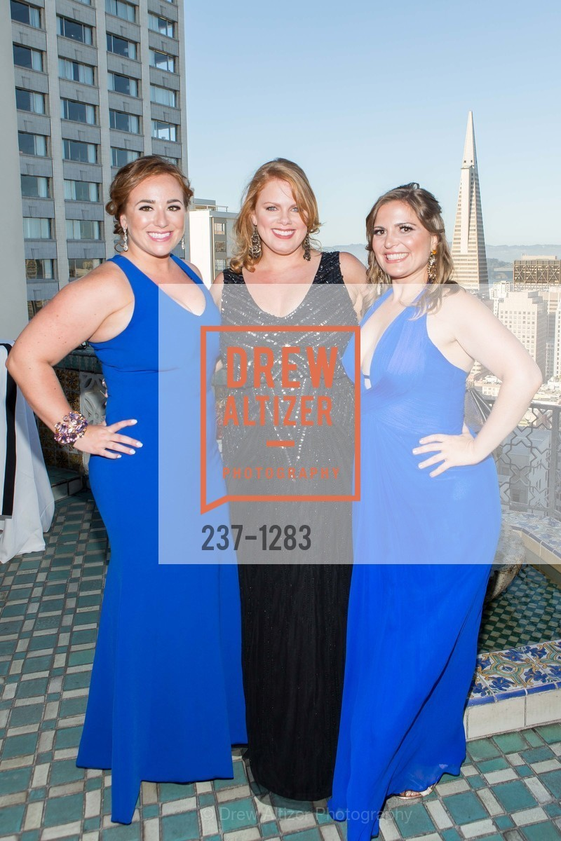 Andrea Marquis, Elizabeth Wilson, Jonna Constantine, Spinsters of San Francisco Annual Ball 2016, US, June 25th, 2016