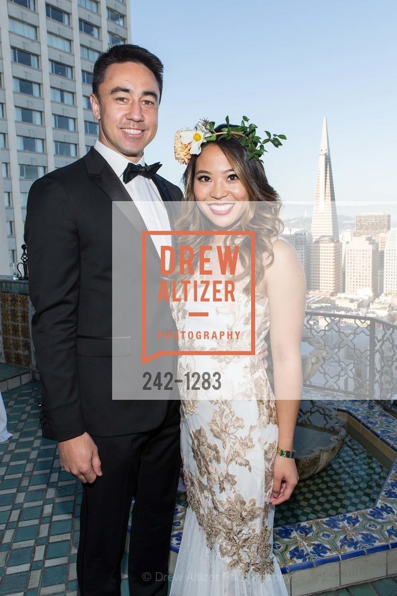 Keith Perocho, Rachael Tso, Spinsters of San Francisco Annual Ball 2016, US, June 25th, 2016
