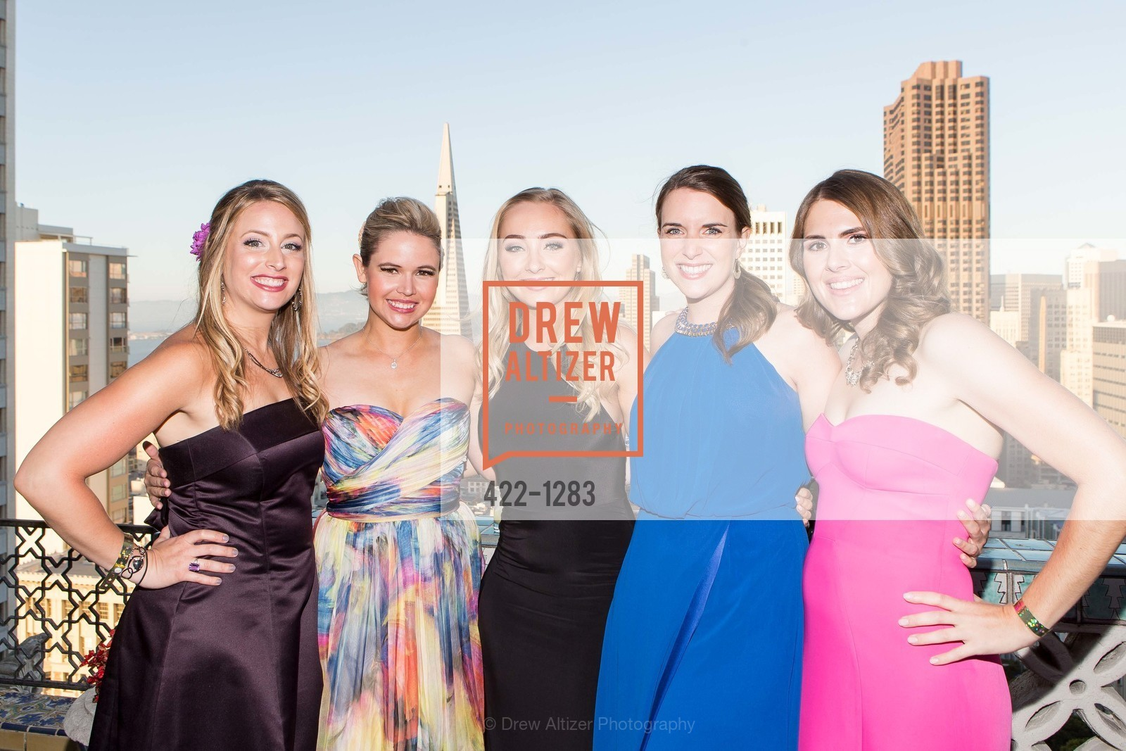 Jen Hazelwood, Colette Whitney, Morgan Barnes, Gabby Ruano, Cailin Todd, Spinsters of San Francisco Annual Ball 2016, US, June 25th, 2016
