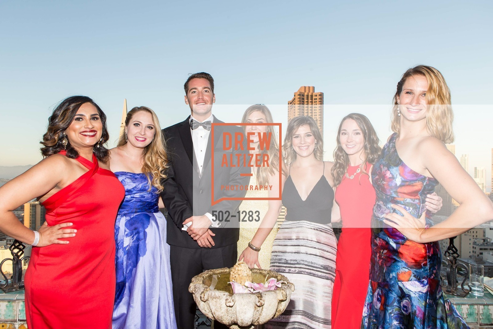 Teesta Kaur, Victoria Whitehill, Alyssa Nordstrom, Jeanette LeFevre, Danielle Schraner, Spinsters of San Francisco Annual Ball 2016, US, June 25th, 2016