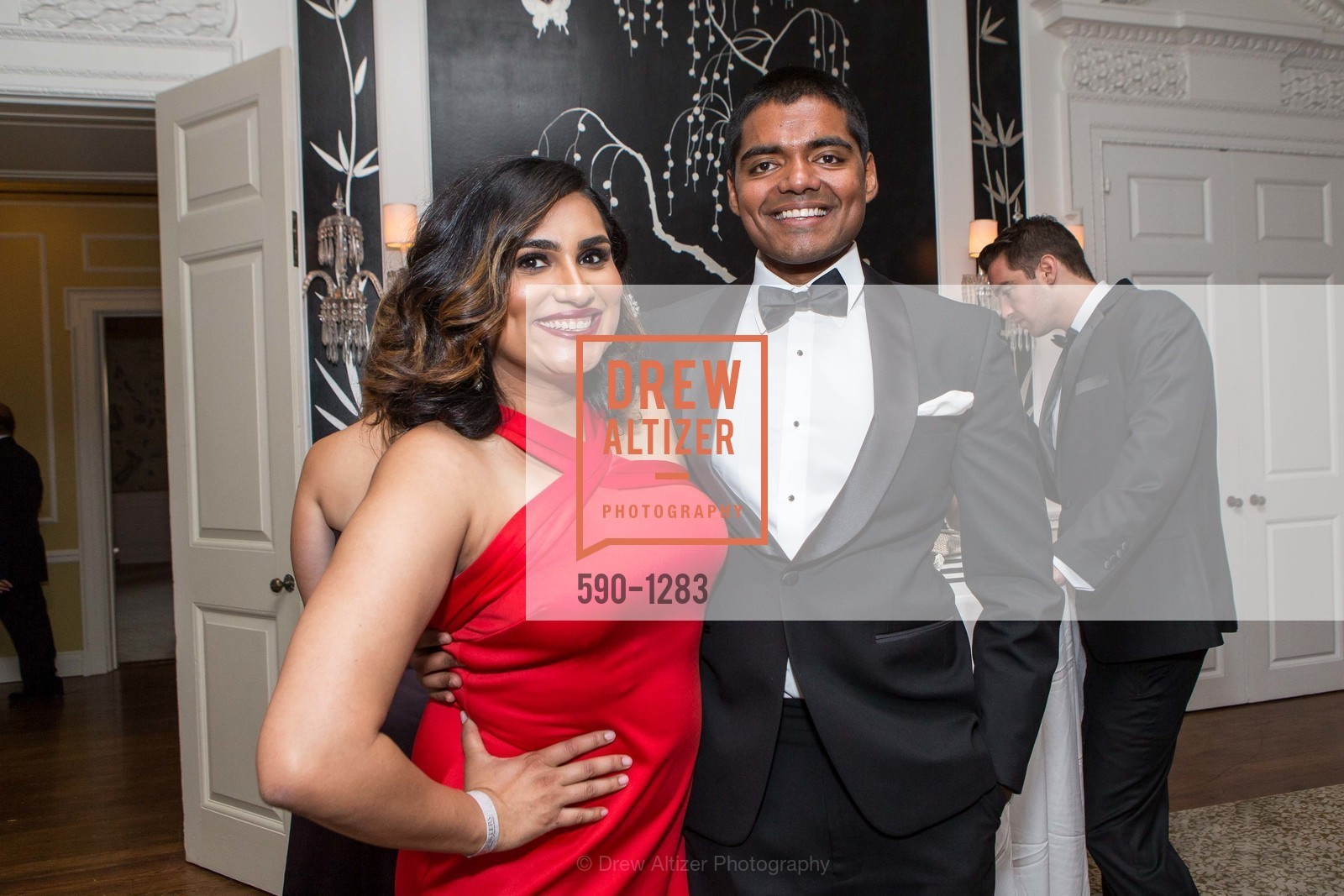 Teesta Kaur, Sri Majji, Spinsters of San Francisco Annual Ball 2016, US, June 25th, 2016