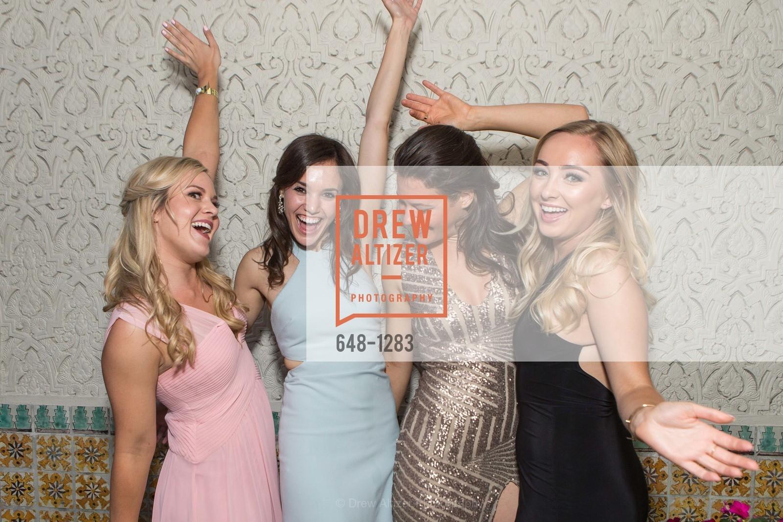 Dana Nicholson, Shana Lowenthal, Celine Buehl, Morgan Barnes, Spinsters of San Francisco Annual Ball 2016, US, June 25th, 2016