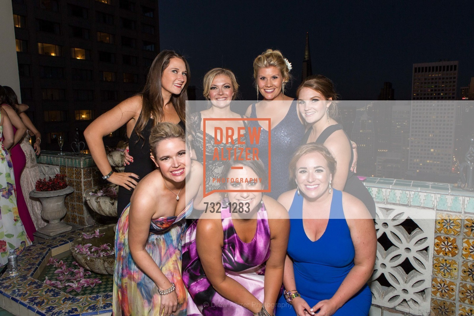 Brooke Montgomery, Colette Whitney, Liberty Kikerpill, Kathleen Roberts, Laura Davis, Jamie Taylor, Andrea Marquis, Spinsters of San Francisco Annual Ball 2016, US, June 25th, 2016