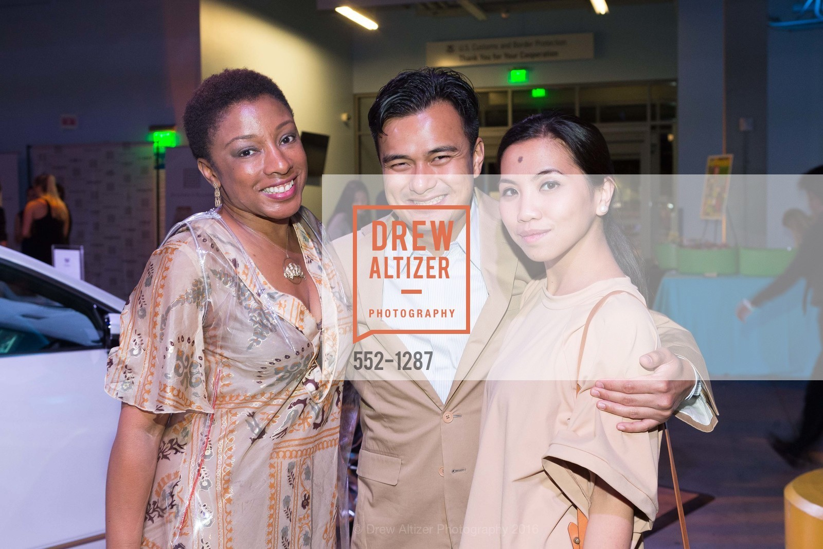 Abena Adjei, Yannick Cresto, Kat Canizares, Best of San Francisco Magazine 2016, US. Pier 27, June 23rd, 2016