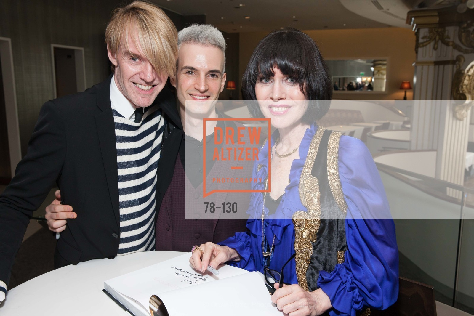 Ken Downing, Frederic Aranda, Christine Suppes, Electric Fashion Book Signing with Christine Suppes & Ken Downing, Neiman Marcus, Rotunda, May 26th, 2015,Drew Altizer, Drew Altizer Photography, full-service agency, private events, San Francisco photographer, photographer california