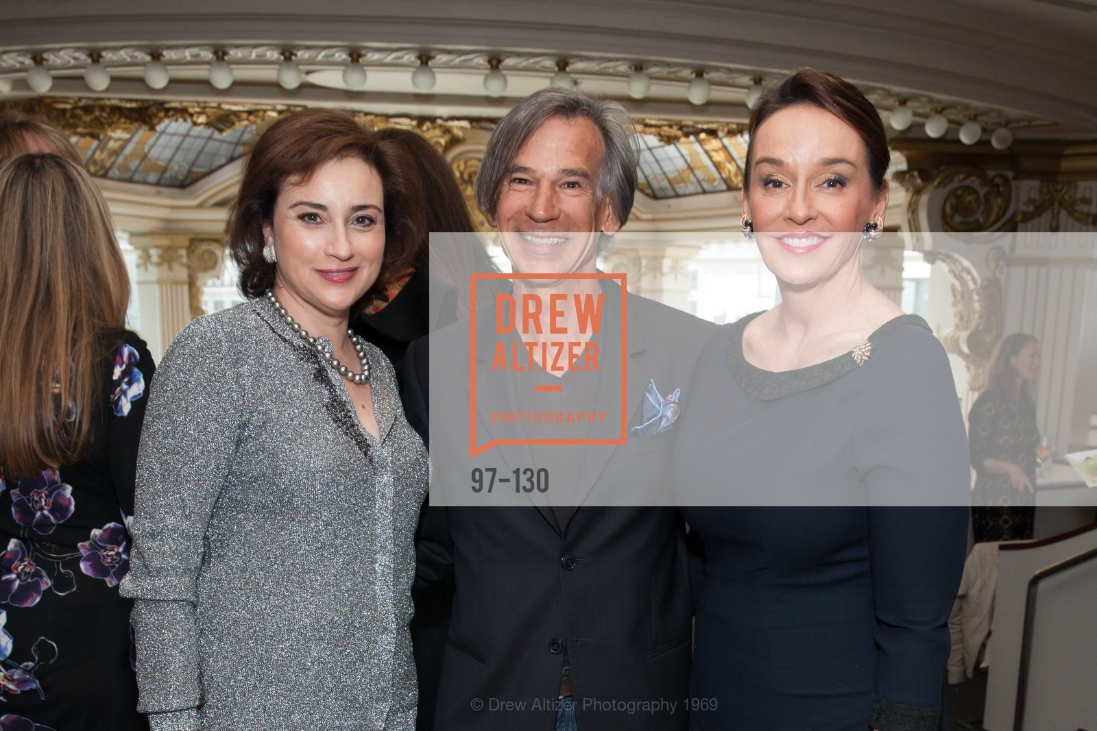Dolly Chammas, Dan Dieguez, Elisa Stephens, Electric Fashion Book Signing with Christine Suppes & Ken Downing, Neiman Marcus, Rotunda, May 26th, 2015,Drew Altizer, Drew Altizer Photography, full-service agency, private events, San Francisco photographer, photographer california