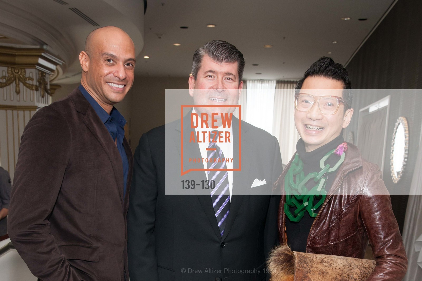 Michael Hernandez, Alan Morrell, Lawrence Mansana, Electric Fashion Book Signing with Christine Suppes & Ken Downing, Neiman Marcus, Rotunda, May 26th, 2015,Drew Altizer, Drew Altizer Photography, full-service agency, private events, San Francisco photographer, photographer california