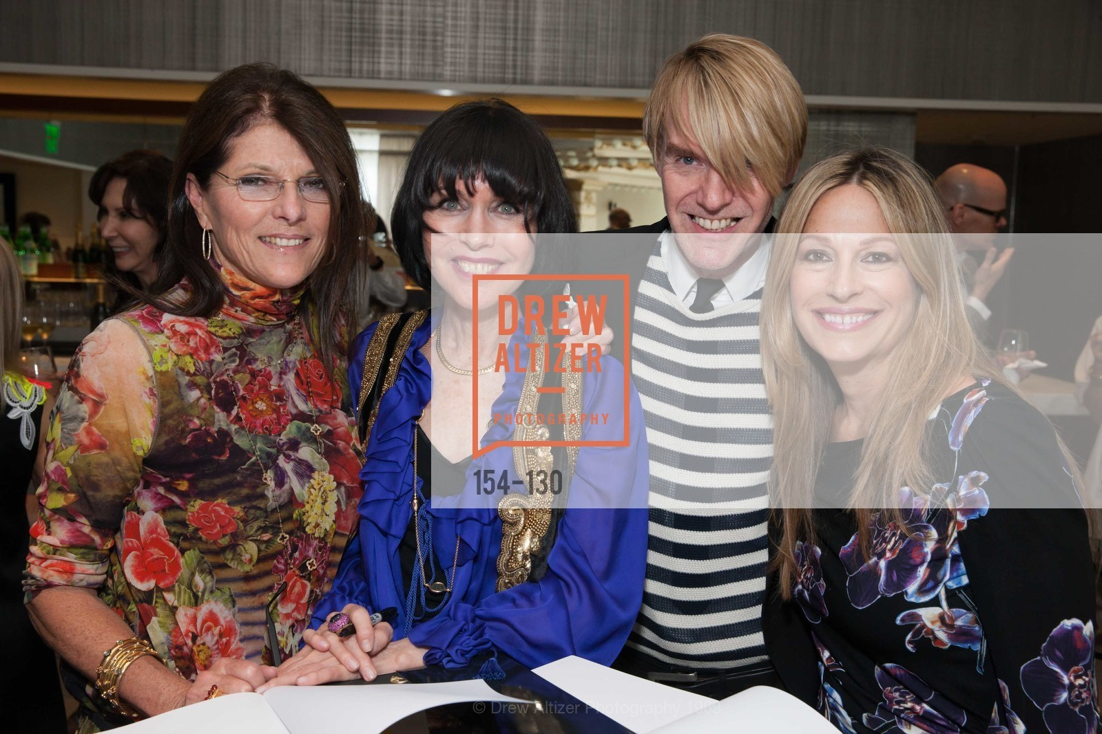Lorrae Rominger, Christine Suppes, Ken Downing, Carolyne Zinko, Electric Fashion Book Signing with Christine Suppes & Ken Downing, Neiman Marcus, Rotunda, May 26th, 2015,Drew Altizer, Drew Altizer Photography, full-service event agency, private events, San Francisco photographer, photographer California