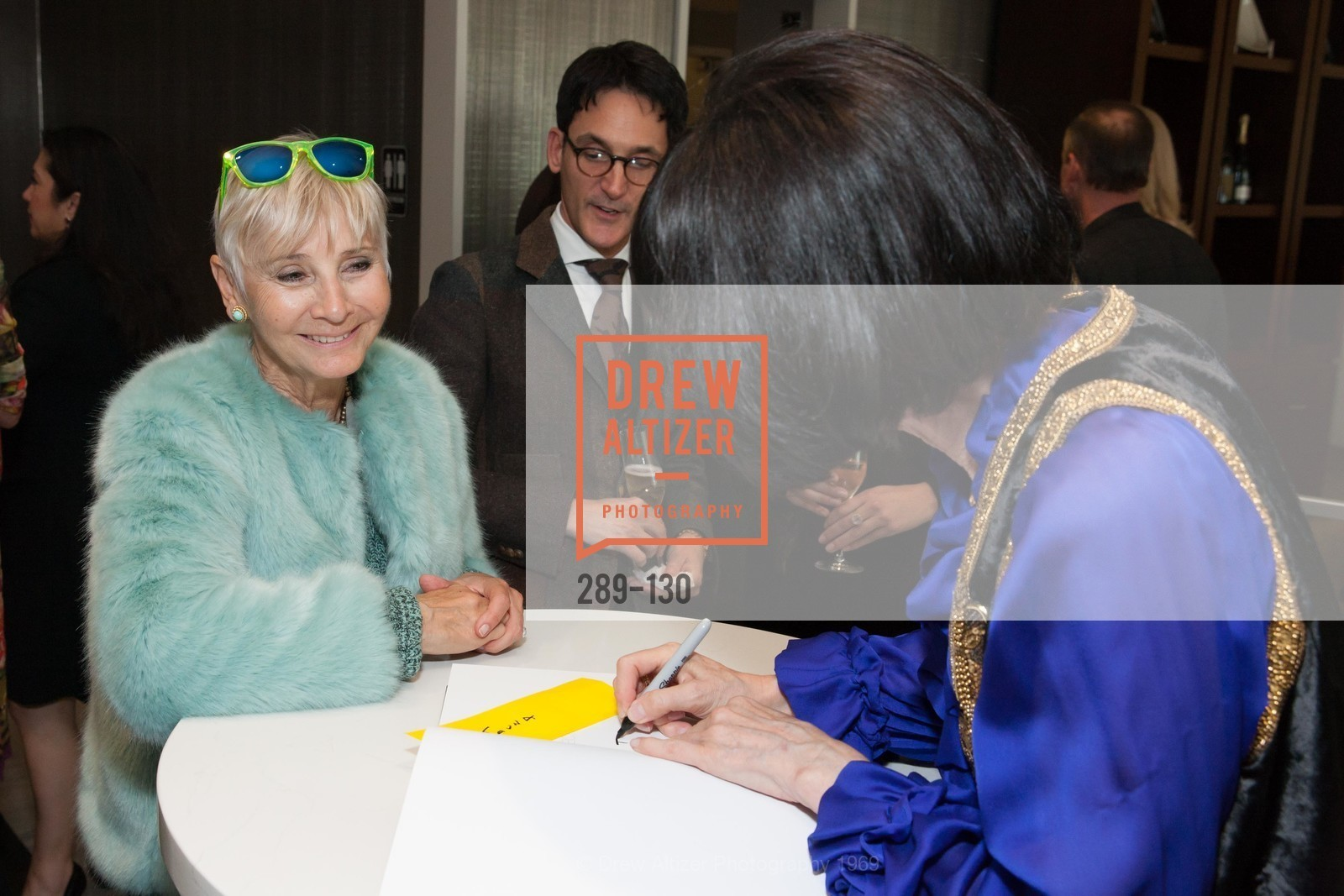 Gail Glasser, Electric Fashion Book Signing with Christine Suppes & Ken Downing, Neiman Marcus, Rotunda, May 26th, 2015,Drew Altizer, Drew Altizer Photography, full-service agency, private events, San Francisco photographer, photographer california