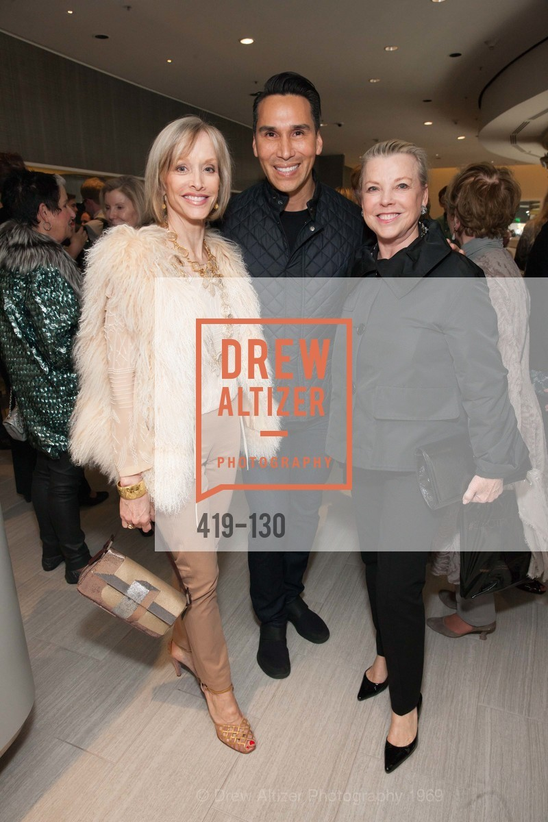 OJ Shansby, Jesse Garza, Jeanne Lawrence, Electric Fashion Book Signing with Christine Suppes & Ken Downing, Neiman Marcus, Rotunda, May 26th, 2015,Drew Altizer, Drew Altizer Photography, full-service event agency, private events, San Francisco photographer, photographer California