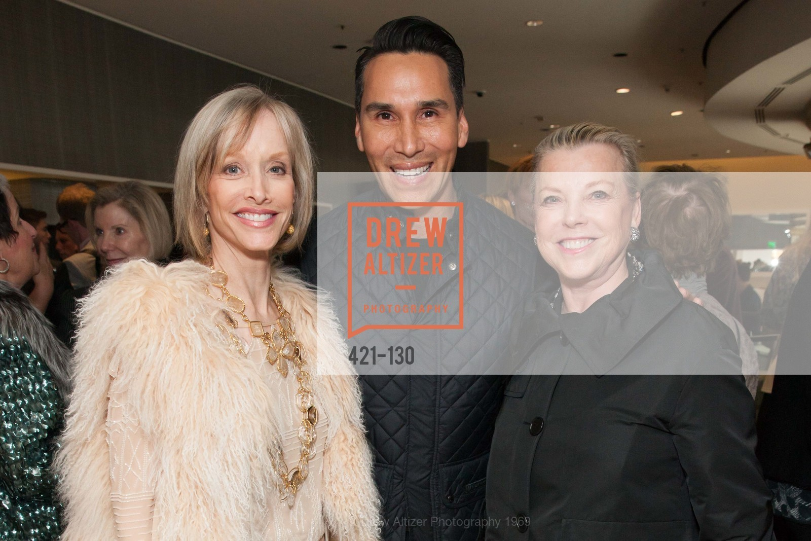 OJ Shansby, Jesse Garza, Jeanne Lawrence, Electric Fashion Book Signing with Christine Suppes & Ken Downing, Neiman Marcus, Rotunda, May 26th, 2015,Drew Altizer, Drew Altizer Photography, full-service agency, private events, San Francisco photographer, photographer california