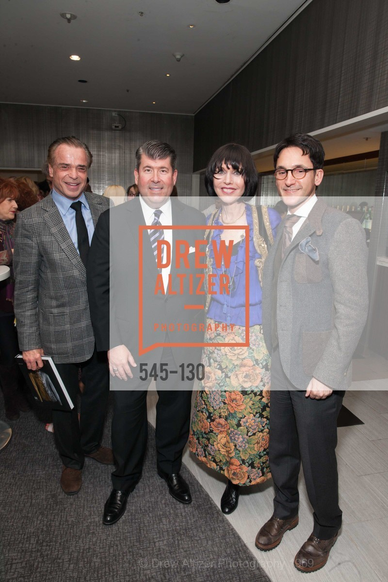 Boaz Mazor, Alan Morrell, Christine Suppes, James Krohn, Electric Fashion Book Signing with Christine Suppes & Ken Downing, Neiman Marcus, Rotunda, May 26th, 2015,Drew Altizer, Drew Altizer Photography, full-service agency, private events, San Francisco photographer, photographer california