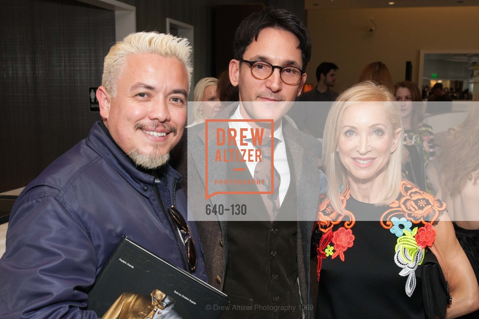Victor Vargas, James Krohn, Shelley Gordon, Electric Fashion Book Signing with Christine Suppes & Ken Downing, Neiman Marcus, Rotunda, May 26th, 2015,Drew Altizer, Drew Altizer Photography, full-service agency, private events, San Francisco photographer, photographer california