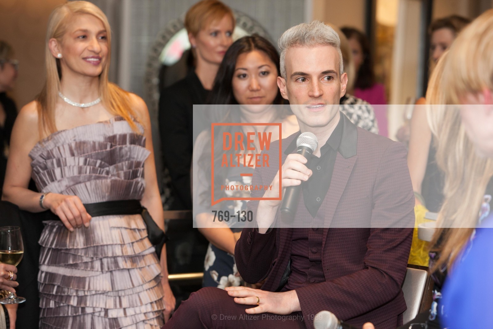 Frederic Aranda, Electric Fashion Book Signing with Christine Suppes & Ken Downing, Neiman Marcus, Rotunda, May 26th, 2015,Drew Altizer, Drew Altizer Photography, full-service agency, private events, San Francisco photographer, photographer california