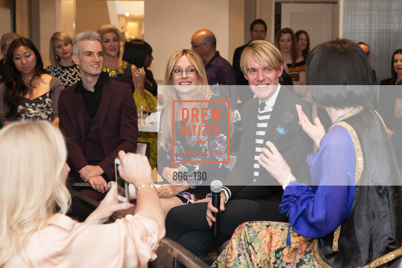Frederic Aranda, Carolyne Zinko, Ken Downing, Electric Fashion Book Signing with Christine Suppes & Ken Downing, Neiman Marcus, Rotunda, May 26th, 2015,Drew Altizer, Drew Altizer Photography, full-service agency, private events, San Francisco photographer, photographer california