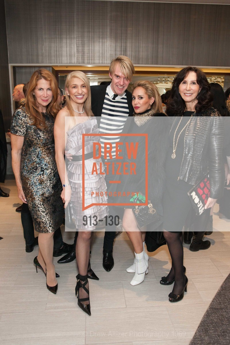 Patricia Ferrin Loucks, Navid Armstrong, Ken Downing, Brenda Zarate, Carolyn Chandler, Electric Fashion Book Signing with Christine Suppes & Ken Downing, Neiman Marcus, Rotunda, May 26th, 2015,Drew Altizer, Drew Altizer Photography, full-service agency, private events, San Francisco photographer, photographer california