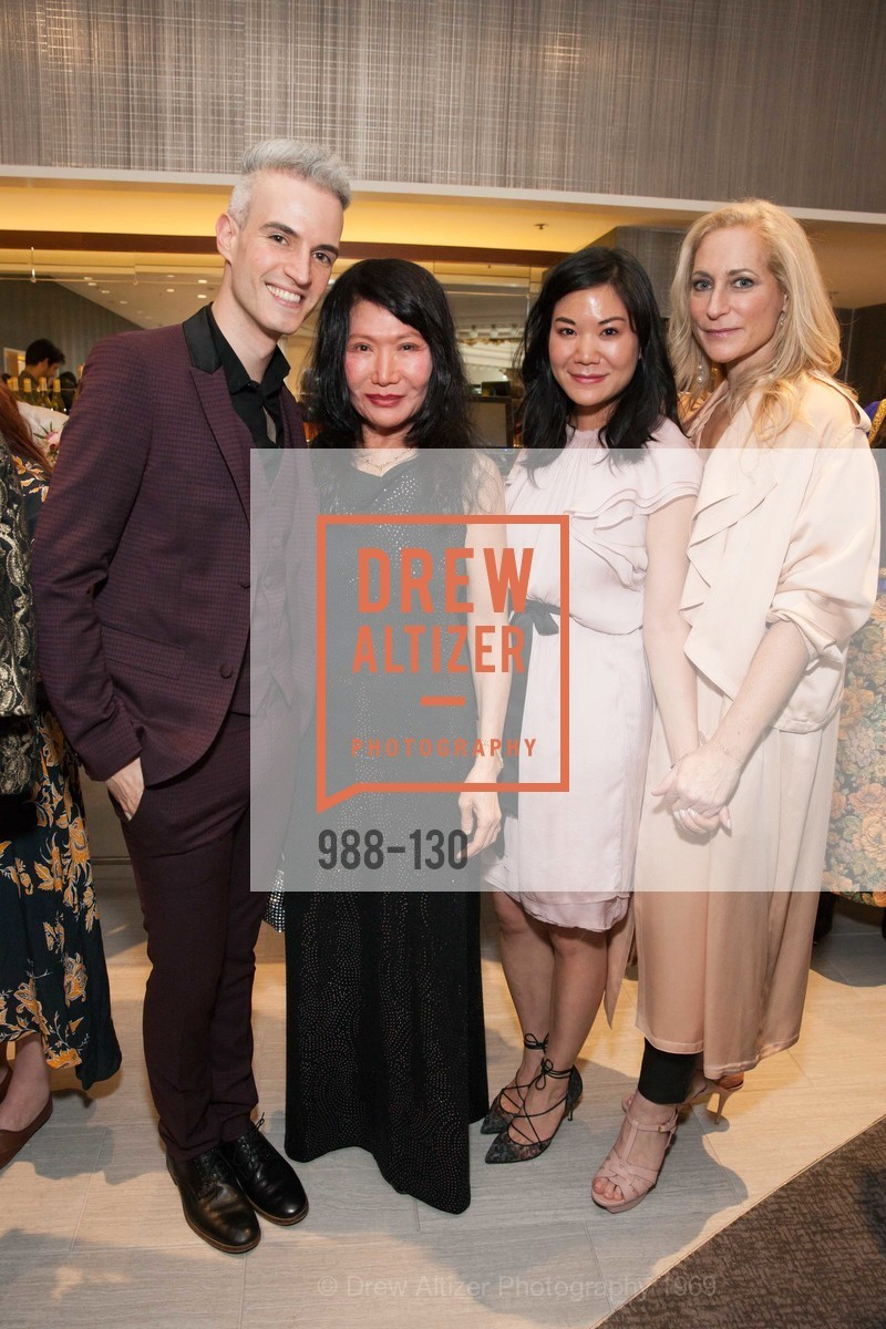 Frederic Aranda, Jackie Chan, Genine Velez Tang, Joni Binder, Electric Fashion Book Signing with Christine Suppes & Ken Downing, Neiman Marcus, Rotunda, May 26th, 2015,Drew Altizer, Drew Altizer Photography, full-service agency, private events, San Francisco photographer, photographer california