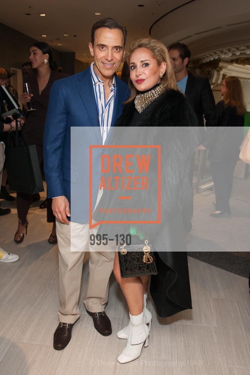 Alan Malouf, Brenda Zarate, Electric Fashion Book Signing with Christine Suppes & Ken Downing, Neiman Marcus, Rotunda, May 26th, 2015,Drew Altizer, Drew Altizer Photography, full-service agency, private events, San Francisco photographer, photographer california